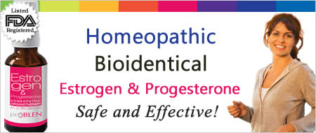 Homeopathic Bioidentical Estrogen & Progesterone