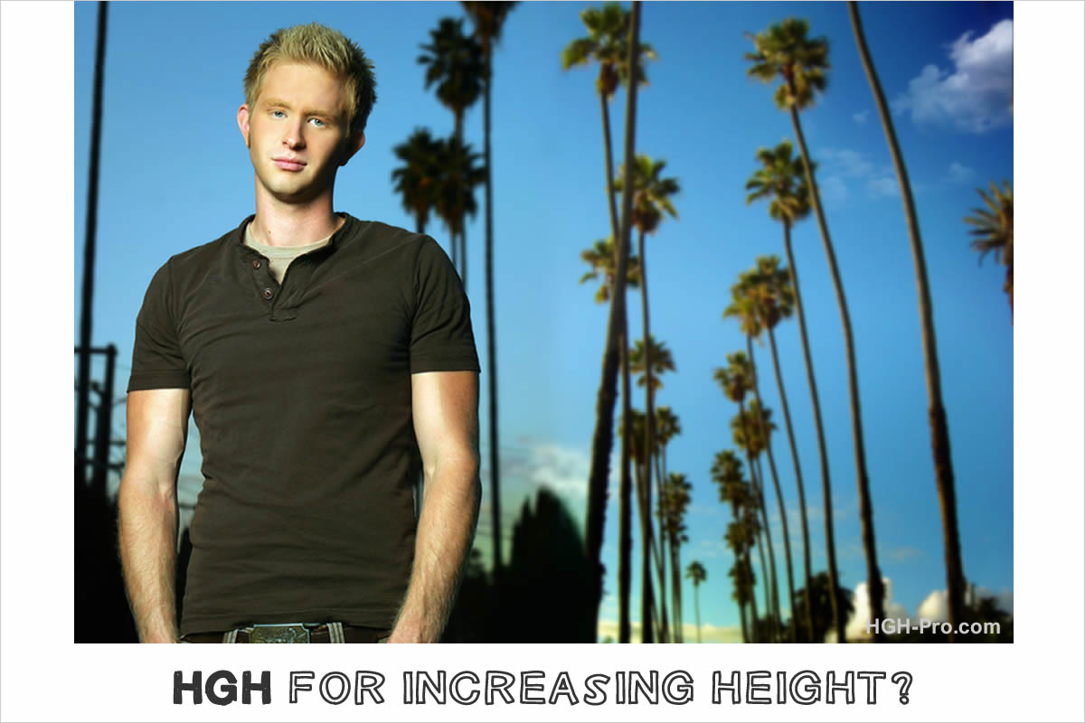 HGH to grow taller?