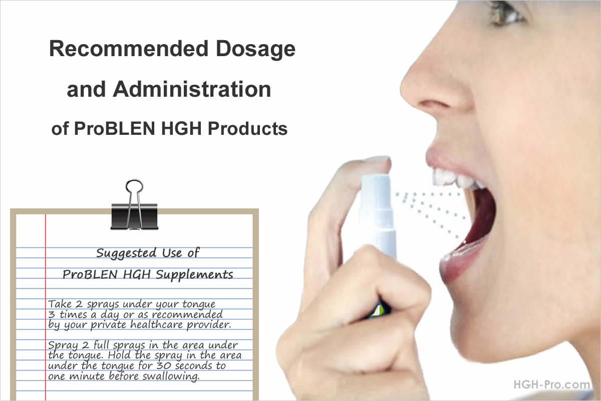 HGH dosage instructions