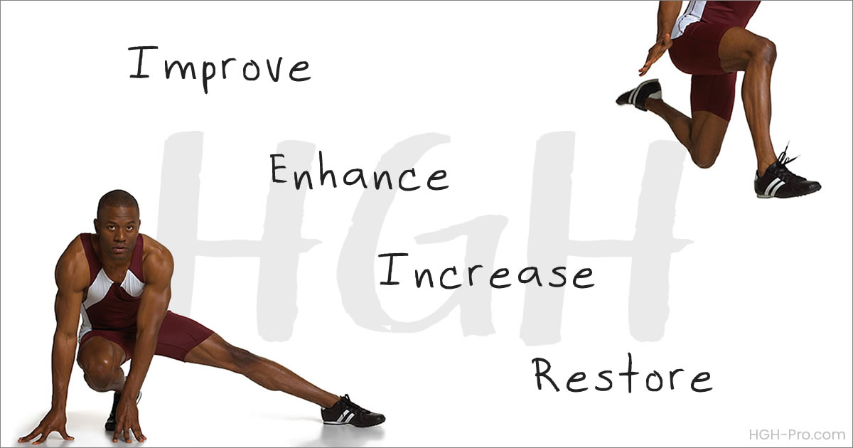 HGH increases athletic performance