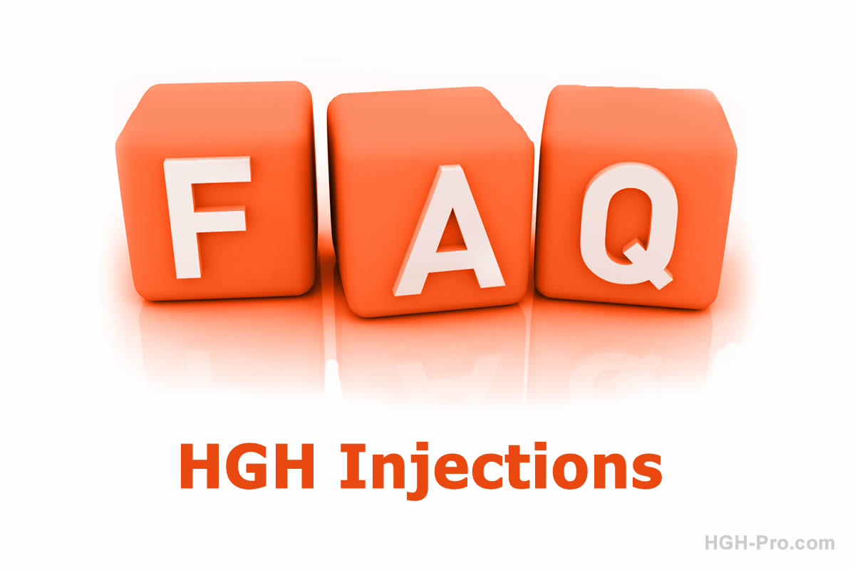 FAQ about HGH injections