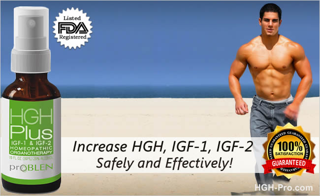 HGH Plus IGF-1 & IGF-2 For Bodybuilders