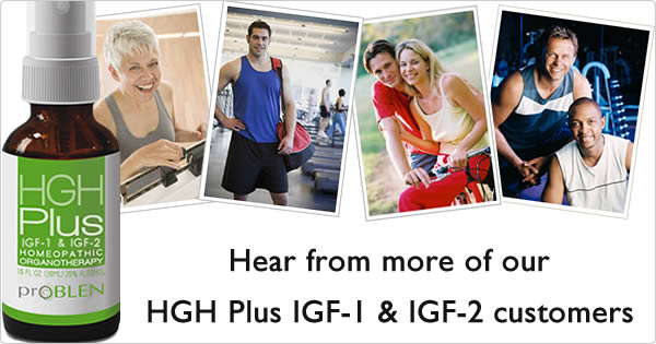 HGH Plus IGF-1 & IGF-2 ratings