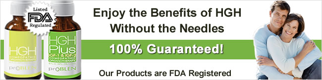 FDA registered HGH products
