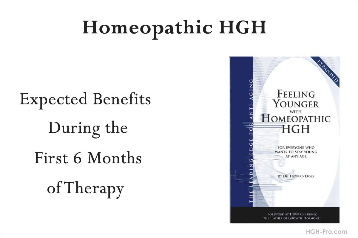 Benefits of homeopathic HGH