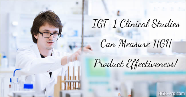 IGF-1 clinical studies