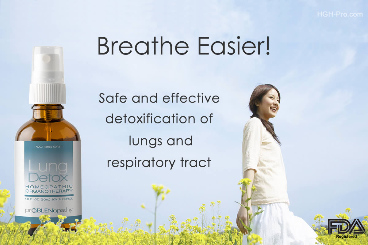 ProBLEN Homeopathic Lung Detox Spray
