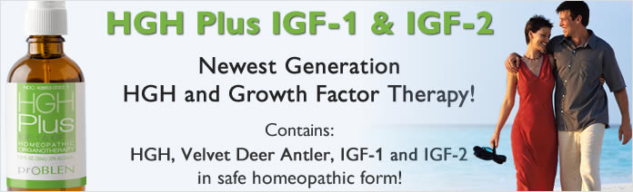 HGH Product with velvet deer antler
